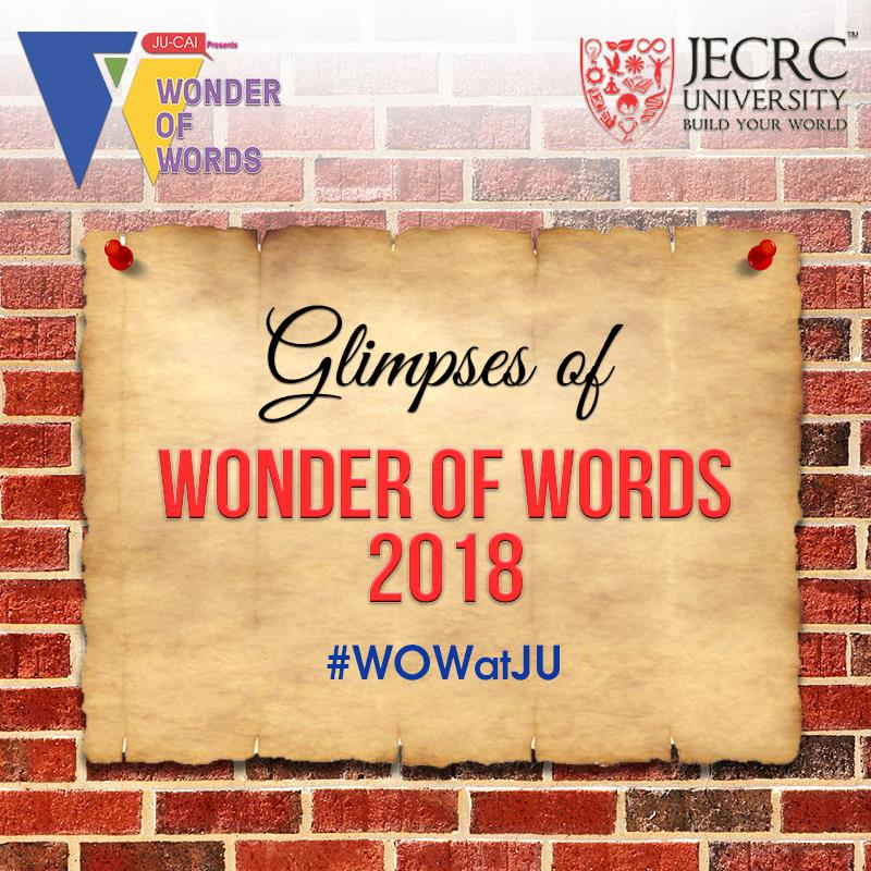 Wonder of Words (WOW)- 2018.