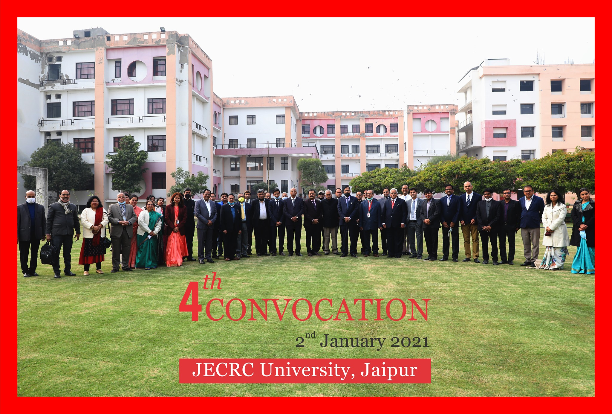 4th Convocation Ceremony.