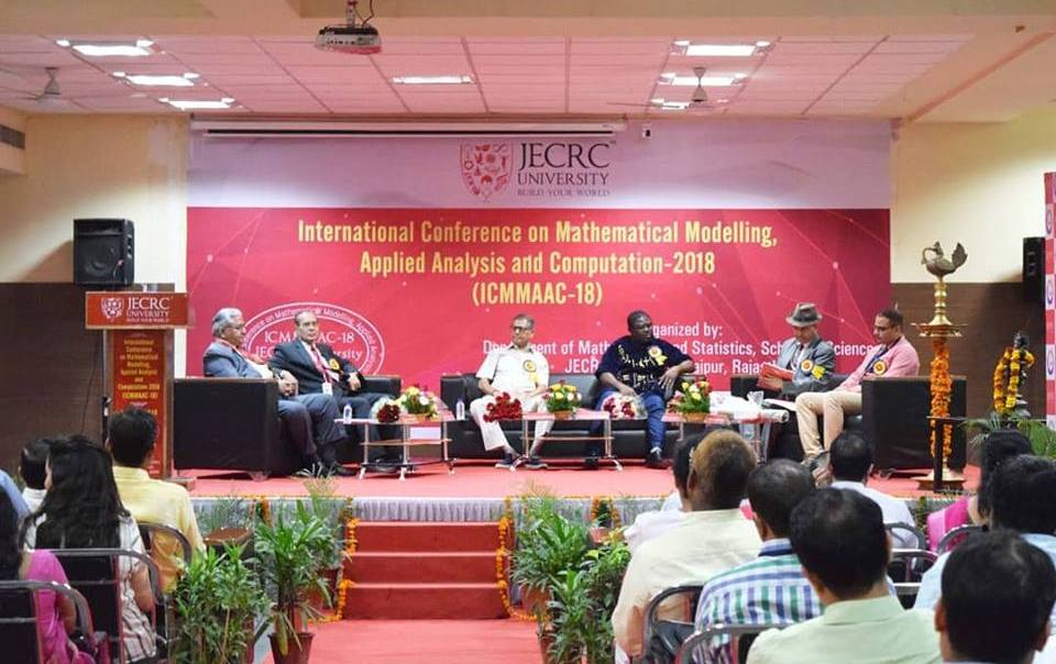 ICMMAAC'18 at JECRC University.
